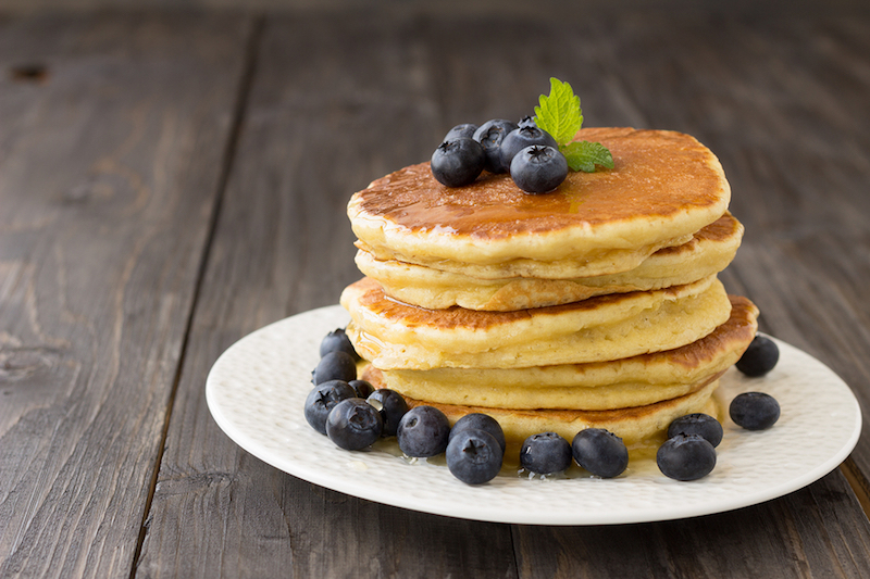 Even if you are gluten free you can still have a traditional breakfast! These delectable gluten free pancakes are great for weekend family breakfasts!