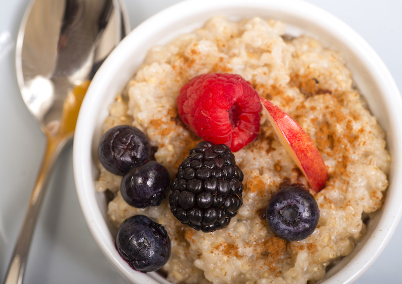 Nutty Steel Cut Oats